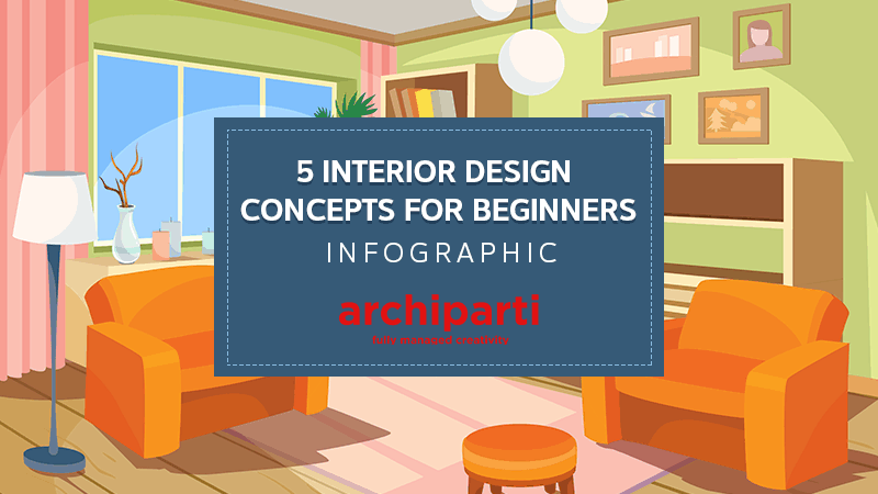 Infographics archive archiparti Interior design for beginners